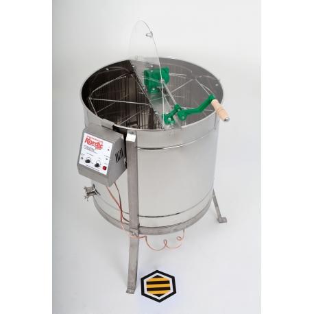 6 Waben Honigschleuder elektrisch
