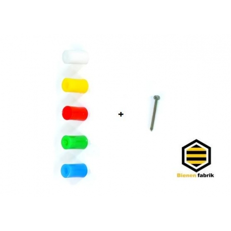 Abstandhalter/röllchen aus Plastik