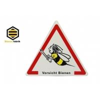 """Dreieckschild """"Vorsicht Bienen"""""""