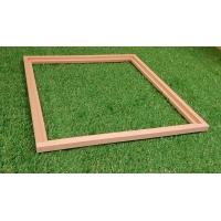 Absperrgitter Holzrahmen EHM Quadrat
