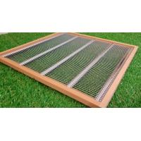 Absperrgitter mit Holzrahmen EHM Quadrat